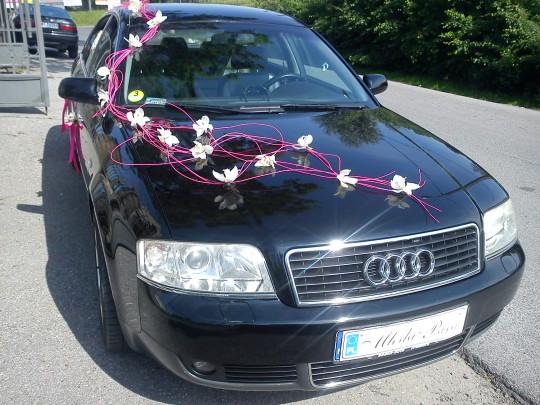 Audi A6 dekorowane...