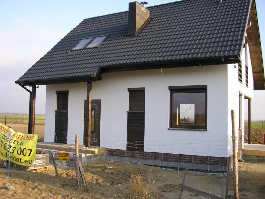 Dom Z71 wg projektu...