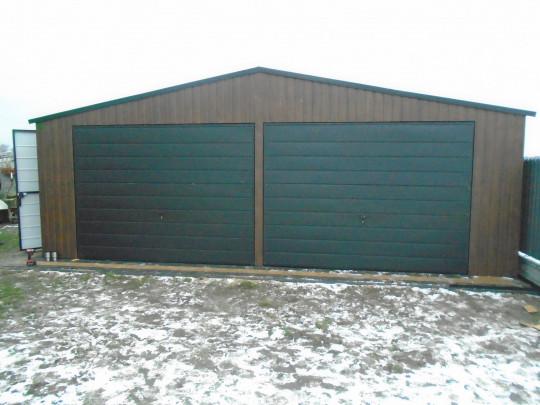 Garaż 7x5 Orzech...