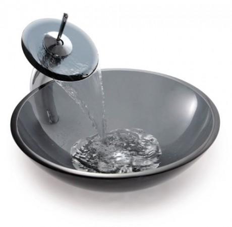 Umywalka szklana...