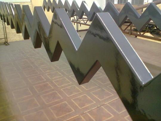 Schody metalowe...