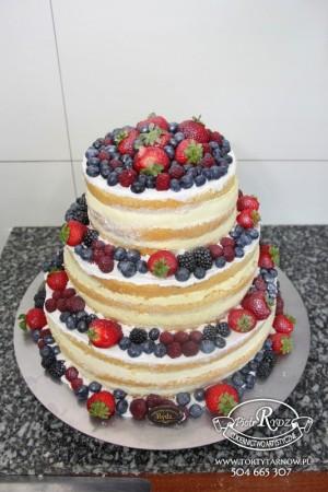 naked cake tort...