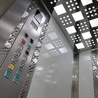 Wnętrze windy...