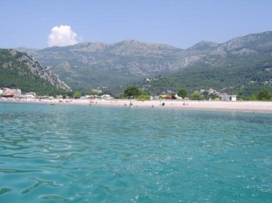 Plaża Czarnogóra