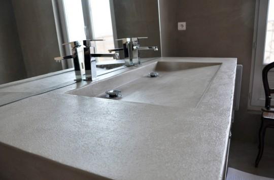 Umywalka z betonu...