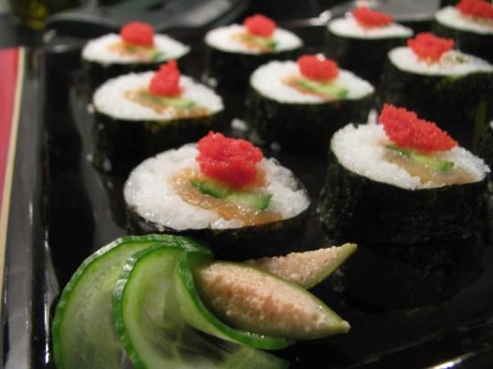 Przystawka sushi...