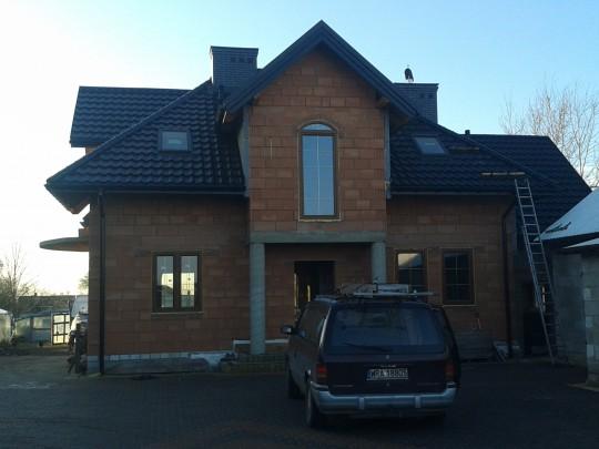realizacja dachu...