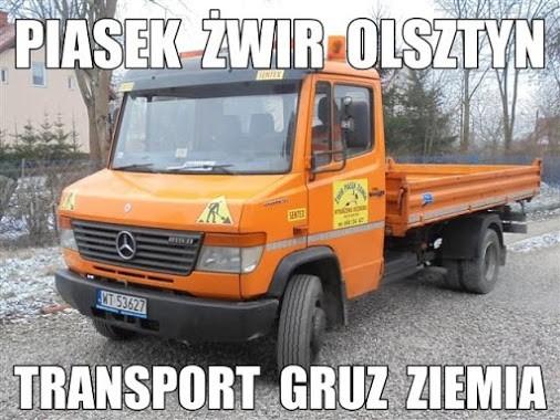 Transport żwiru i...