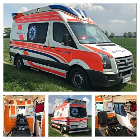 Now ambulans...