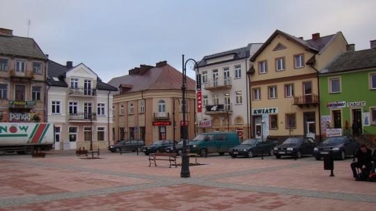 Rynek w Przasnyszu...