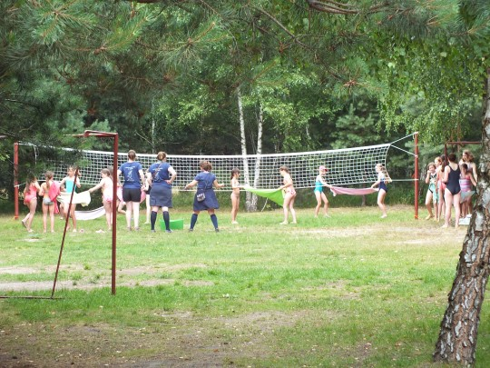zabawy na boisku