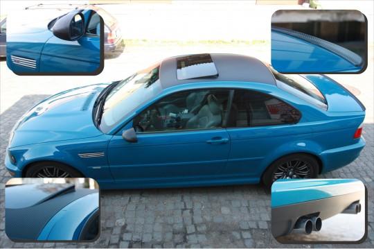 oklejanie BMW M3...
