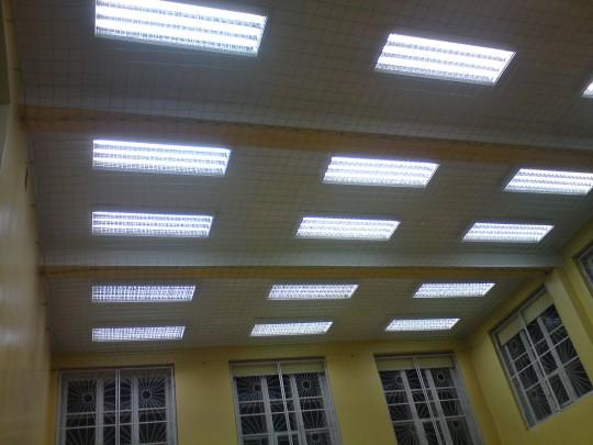 oświetlenie sal...