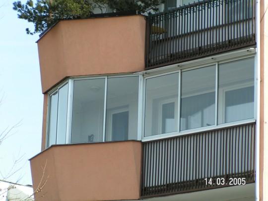 zabudowa balkonu...