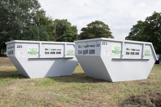 Typowe kontenery na...