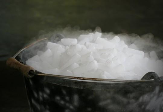Suchy lód