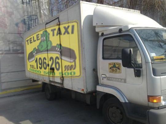 Taxi bagażowe...