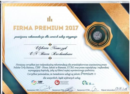 FIRMA PREMIUM 2017