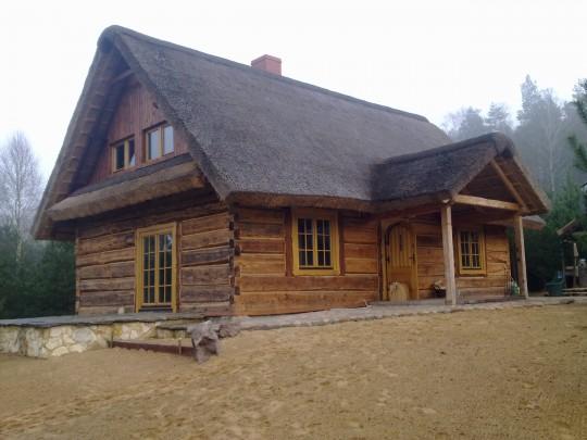 Domki drewniane...