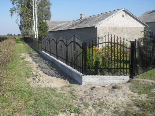montaż ogrodzeń...