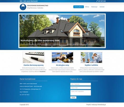 Strona www - Firma...