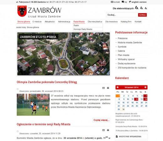 Strona www - Urząd...