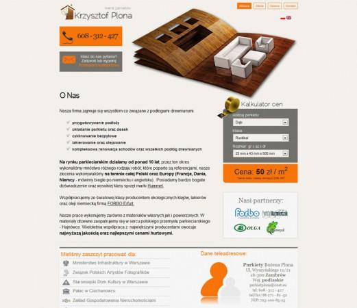 Strona www - dla...