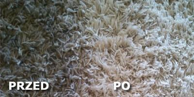 Pranie dywanu z...