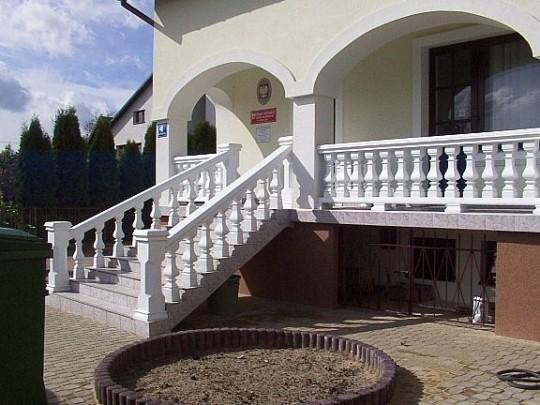 Balustrady betonowe