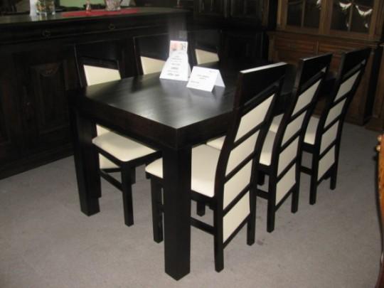 Komplet stoły i...
