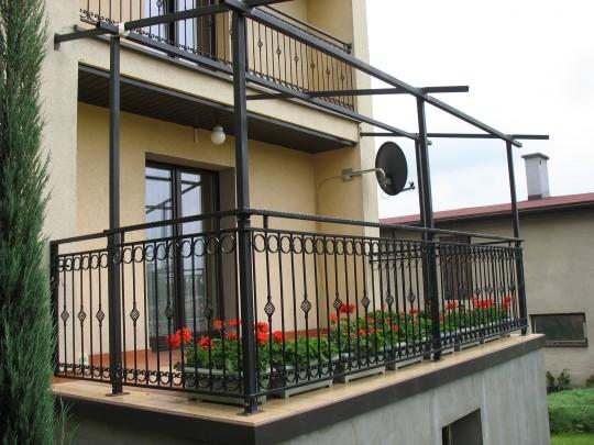 balkon, pergola