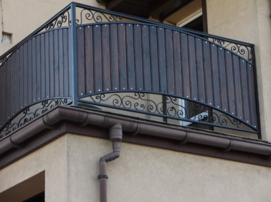 balustrada łuk...
