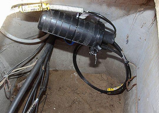 Naprawa kabla...