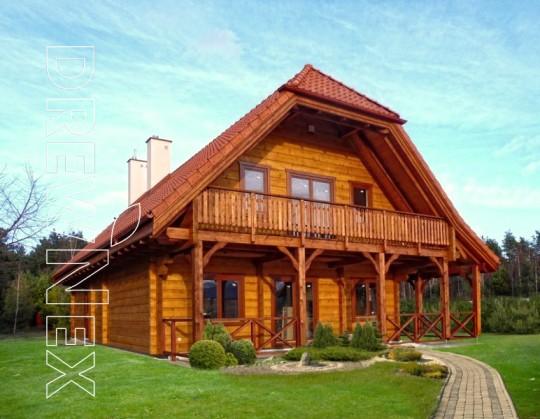 Dom drewniany...