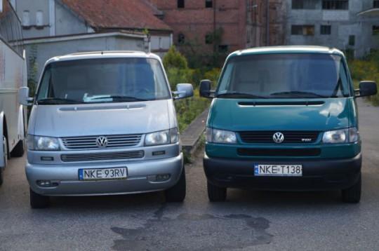 VW T4 9 osobowy, VW...
