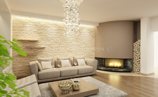 ciepły salon,...