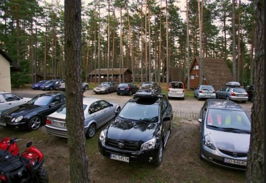 parking strzeżony