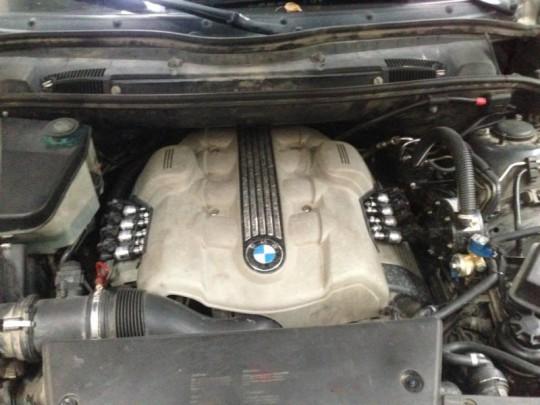 V8 BMW z LPG