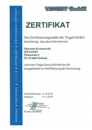 Certyfikat - serwis...