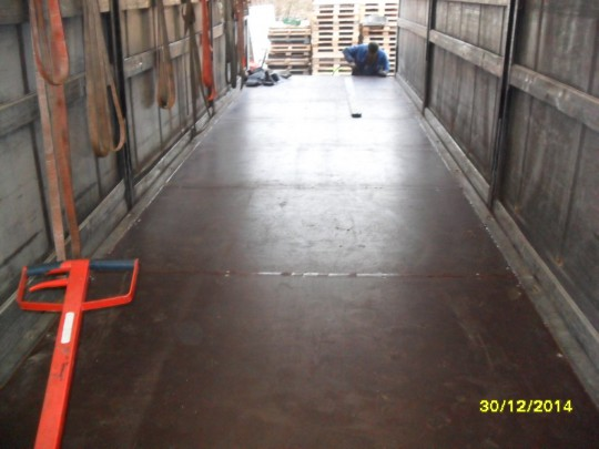 Podłoga po naprawie
