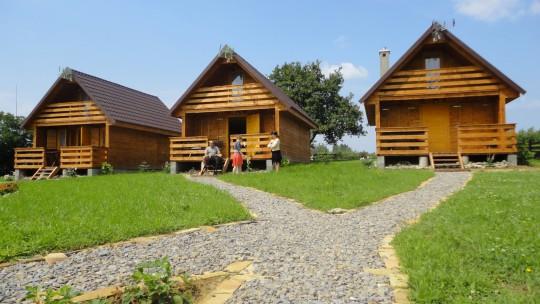 Drewniane domki...