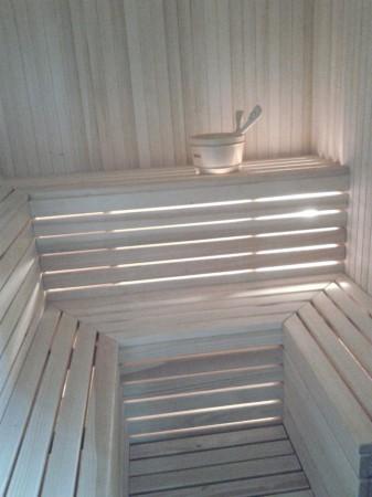 Sauna (od środka)