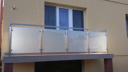 balustrada szklana...