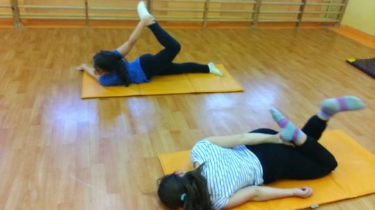 Gimnastyka...