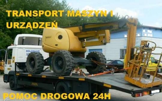 Transport maszyn i...