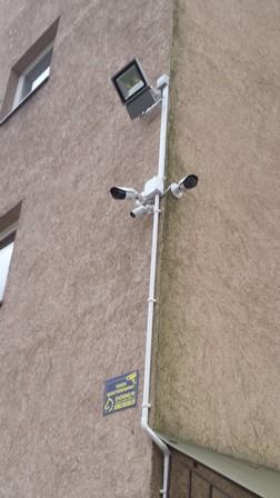 Montaż CCTV na...
