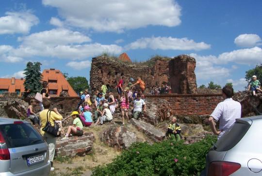 Toruń - Na zamku...