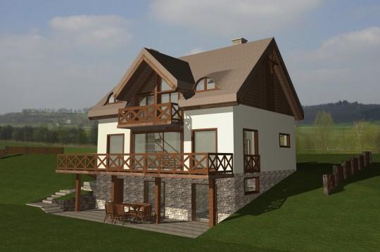 projekt dom na...