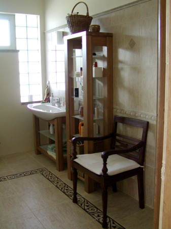 przytulna łazienka