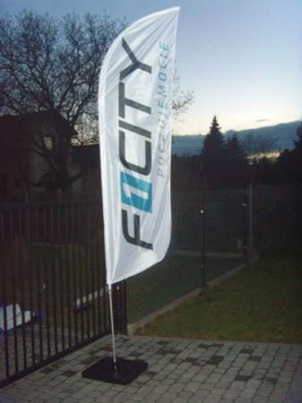 Flaga reklamowa -...